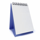 Calibres de blanc de calendrier Images stock