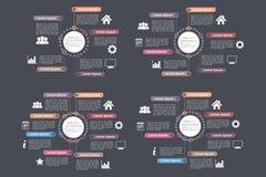 Calibres de diagramme de cercle Image libre de droits