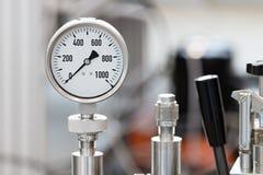 Calibres de pressão mecânicos Imagens de Stock Royalty Free
