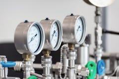 Calibres de pressão mecânicos Imagem de Stock