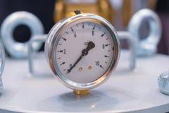 Calibres de pressão mecânicos Fotografia de Stock