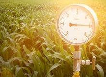 Calibres de pressão mecânicos Instrumentos tradicionais para a pressão de medição Imagem de Stock Royalty Free