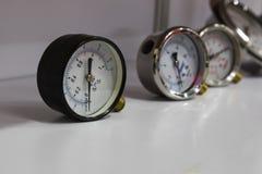 Calibres de pressão; Para a verificação da pressão de ar Imagem de Stock Royalty Free