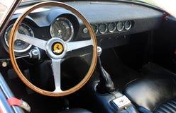 calibres do interior de ferrari dos anos 50 Imagem de Stock