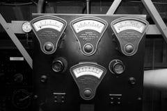 Calibres do vintage de General Electric Fotografia de Stock Royalty Free