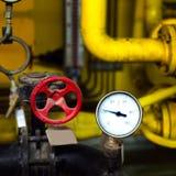 Calibres e válvulas de pressão Fotos de Stock