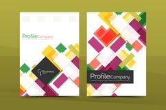 Calibres géométriques de rapport de gestion de lignes droites Photographie stock libre de droits
