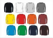 Calibres vides de chemise Photographie stock libre de droits