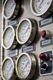 Calibri dell'autopompa antincendio Immagini Stock