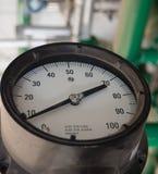 Calibro ad alta pressione Fotografia Stock