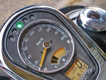 Calibro del motociclo Fotografia Stock