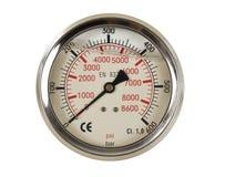 Calibro del tester di pressione Immagini Stock Libere da Diritti