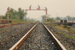 Calibro della ferrovia 1000 millimetri Fotografia Stock