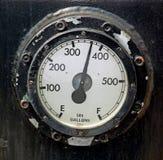 Calibro di combustibile fotografia stock