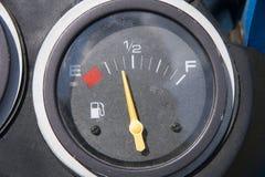 Calibro di combustibile Fotografia Stock Libera da Diritti