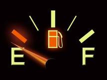Calibro di combustibile Immagine Stock