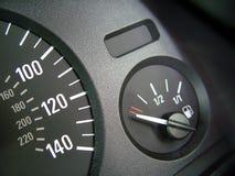 Calibro di combustibile fotografie stock libere da diritti