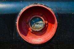 Calibro di combustibile locomotivo SW1500 Immagine Stock Libera da Diritti