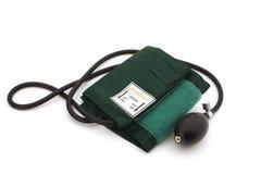 Calibro di pressione sanguigna Fotografie Stock Libere da Diritti