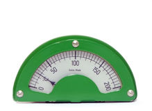 Calibro di temperatura Fotografia Stock