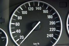 Calibro di velocità fotografia stock libera da diritti