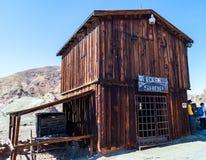 Calicó, un pueblo fantasma en California, los E.E.U.U., Fotografía de archivo