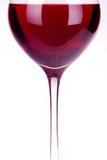 Calice con vino Fotografia Stock