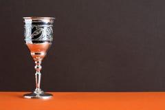 Calice d'argento Fotografie Stock Libere da Diritti