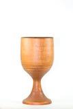 Calice da consacrazione di legno. immagine stock