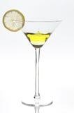 Calice del limone, goccia Immagine Stock Libera da Diritti