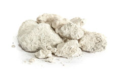 Caliche. Sedimentary rock, consisting mainly calcium carbonate. Used in construction worldwide Royalty Free Stock Photography