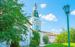 Caliche Tower of St Sergius Trinity Lavra Stock Photo