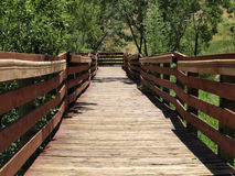 Calico Basin Red Spring Boardwalk Royalty Free Stock Photo