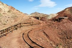 Calico Ghost Town Stock Photo