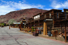 Calico Ghost Town. In California, is a reconstructed ghost town for tourists to visit Stock Photos