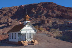Calico Ghost Town Royalty Free Stock Images