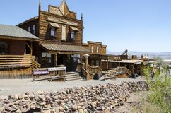 Calico ghost town Stock Photos