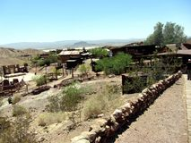 Calico Ghost Town royalty free stock photos
