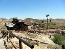 Calico Ghost Town stock photography