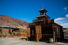Calico the ghost town Stock Image