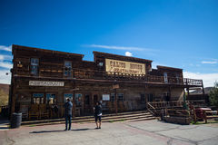 Calico the ghost town Stock Photo
