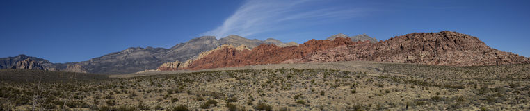 Calico Hills panorama Royalty Free Stock Image