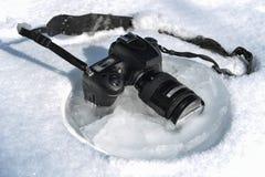 Calidad durable, buena y concepto de prueba de la cámara interesante foto de archivo libre de regalías