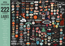 Calidad superior del sistema de etiquetas, café, panadería, venta, la Navidad, y, Foto de archivo
