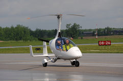 Calidus-Gyroplane auf Waterloo Airshow, Ontario, Kanada Lizenzfreie Stockfotografie