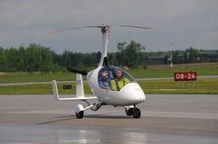 Calidus gyroplane på Waterloo Airshow, Ontario, Kanada Royaltyfri Fotografi