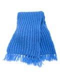 Caliente la bufanda hecha punto Fotografía de archivo