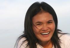 Caliente la sonrisa Imagen de archivo libre de regalías