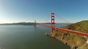 Califórnia aérea San Francisco video estoque