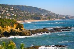 Califorina - Laguna Beach Imagenes de archivo